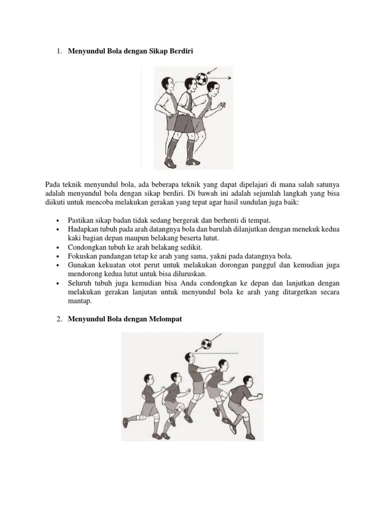 Teknik Dasar Sepak Bola: Peraturan, Teknik, dan Ukuran