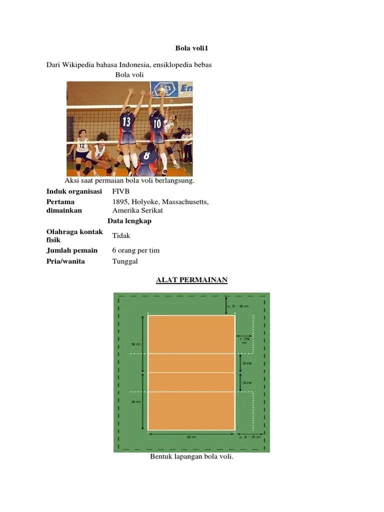 Bentuk Lapangan Bola Voli : bentuk, lapangan, Basket,Voli,, Lapangan