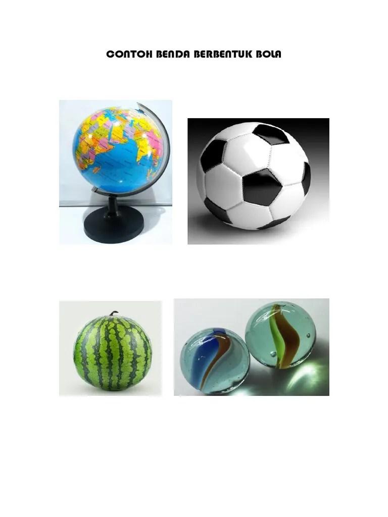 Contoh Benda Yang Berbentuk Bola : contoh, benda, berbentuk, Contoh, Benda, Berbentuk, Tabung