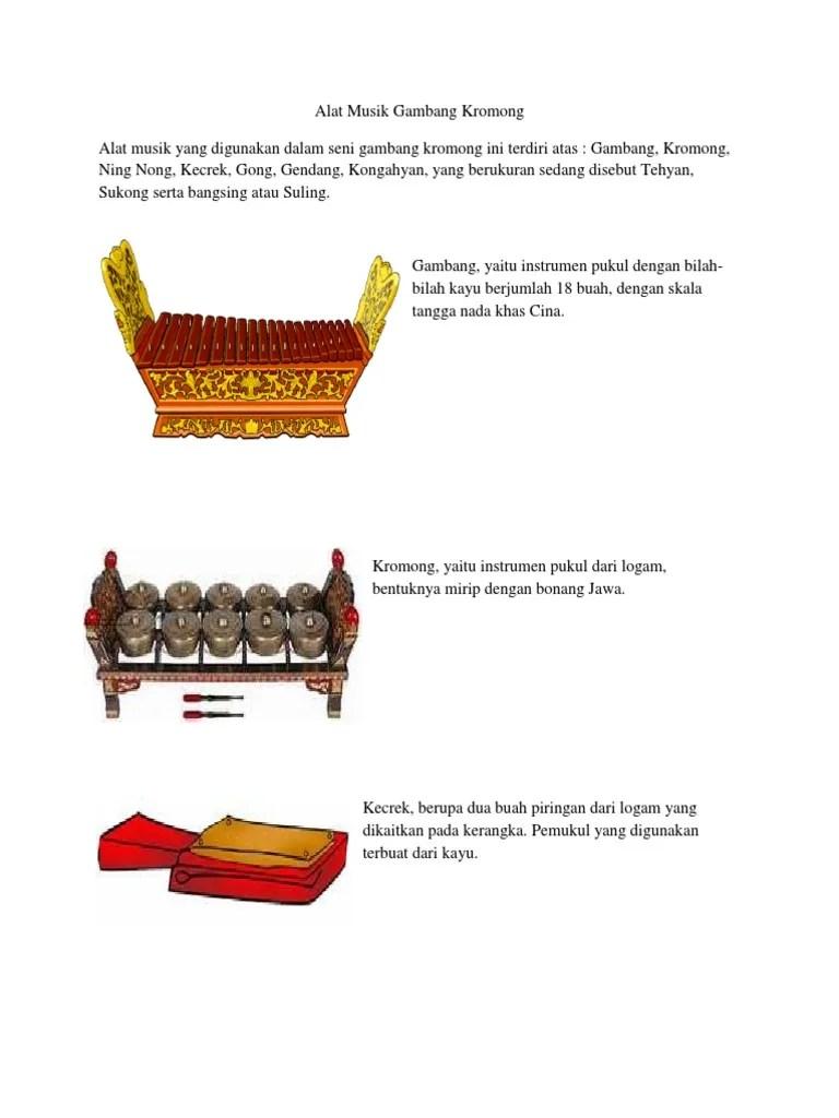 Gambar Alat Musik Gambang Kromong : gambar, musik, gambang, kromong, Musik, Gambang, Kromong