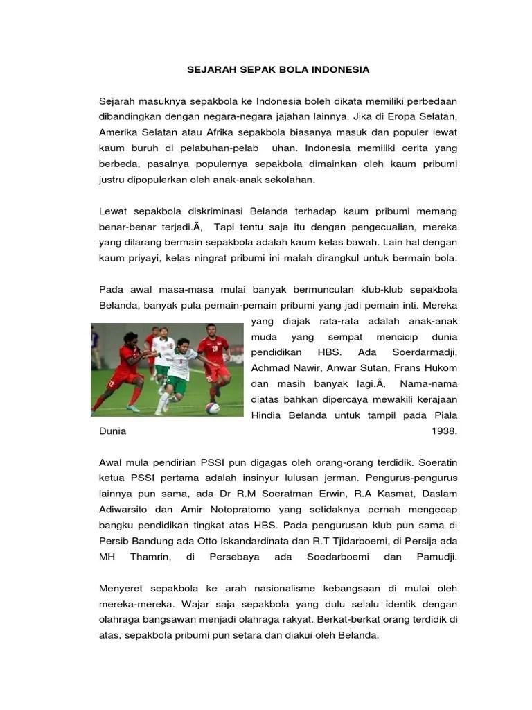 Sejarah Sepak Bola Indonesia Yang Benar : sejarah, sepak, indonesia, benar, Sejarah, Sepak, Indonesi2