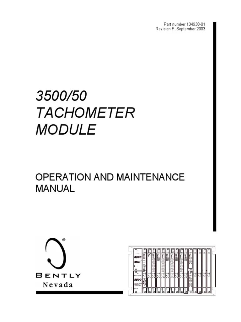 bently nevada 3500 50 tachometer pdf printed circuit board electrical connector [ 768 x 1024 Pixel ]