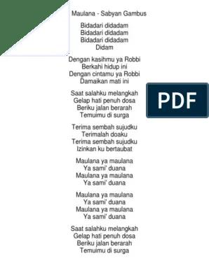 Lirik Ya Asyiqol Sabyan : lirik, asyiqol, sabyan, Lirik, Nissa, Sabyan