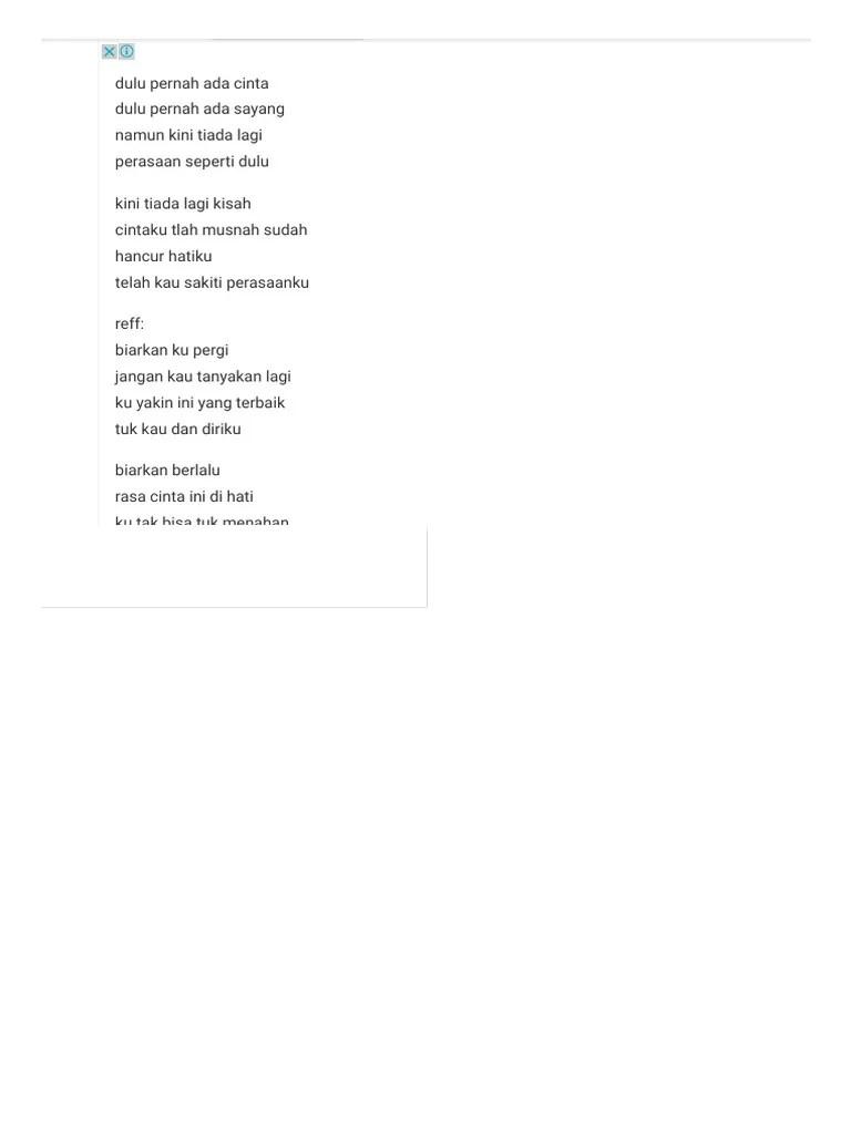 Luka Disini Lirik : disini, lirik, Lirik, Disini.pdf