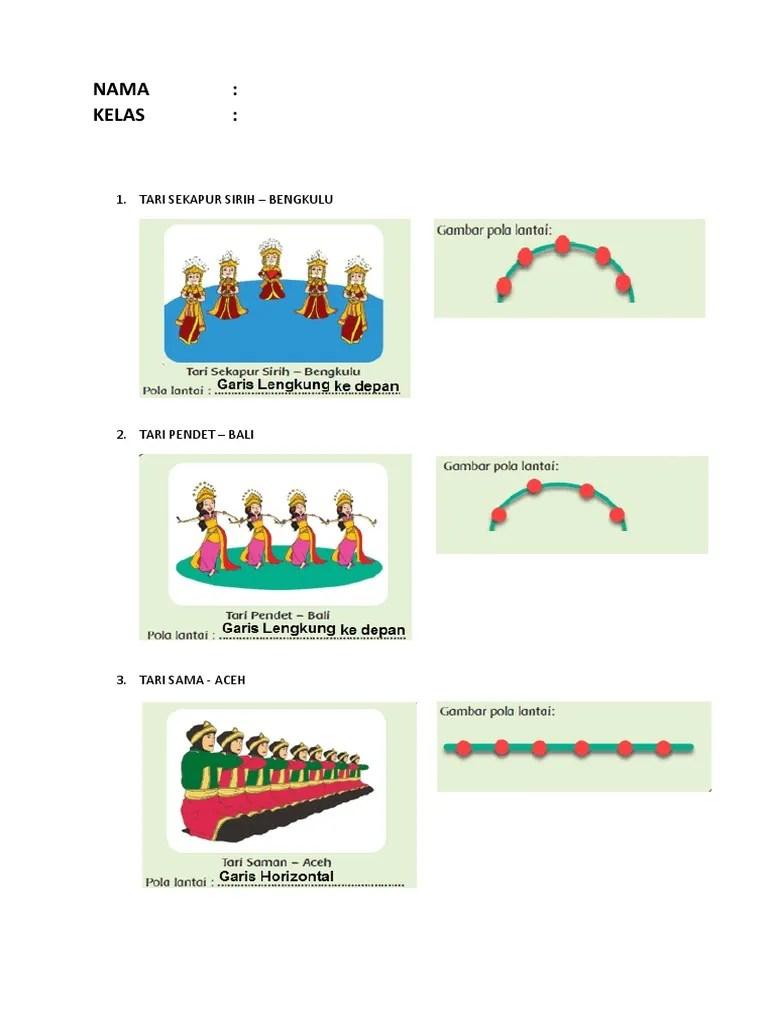 Pola Garis Lengkung : garis, lengkung, Gambar, Lantai, Saman, VisitBandaAceh.com