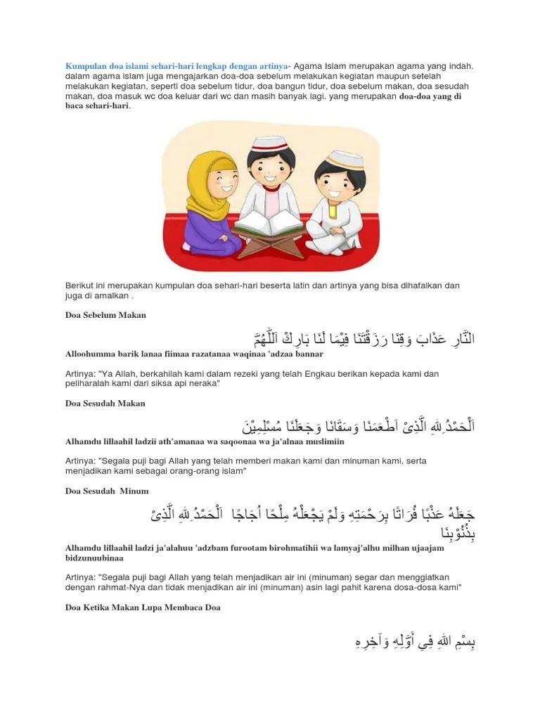 Doa Sebelum Makan : Bacaan Arab, Latin, Arti dan Maknanya