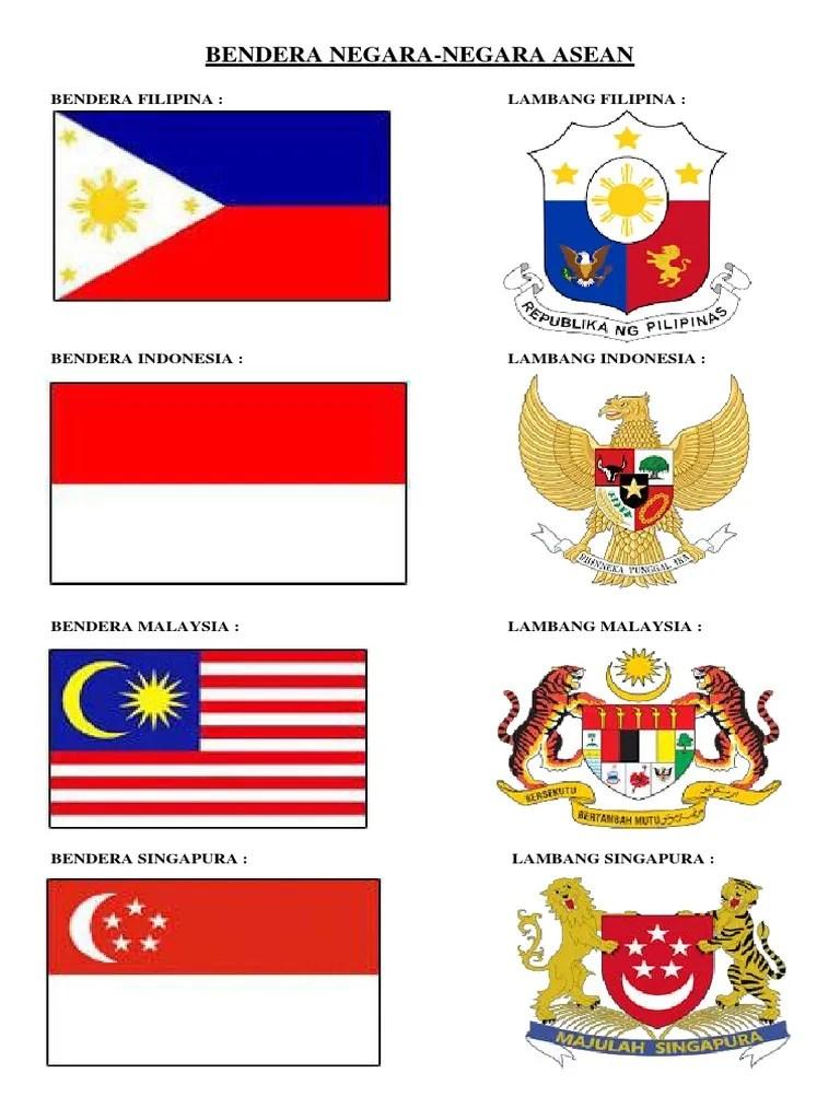 Bendera Dan Lambang Negara Asean : bendera, lambang, negara, asean, Asean