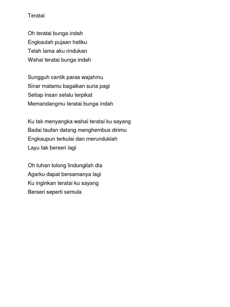 Jadikan Aku Indah Lirik : jadikan, indah, lirik, Lirik, Waterfornt