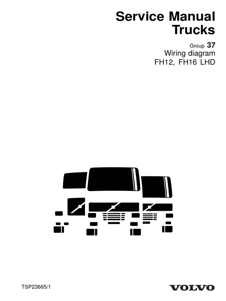 small resolution of d12a tsp23665 wiring diagram fh12 fh16 lhd copy pdf relay volvo d12 engine fan wiring diagram volvo d12 wiring diagram