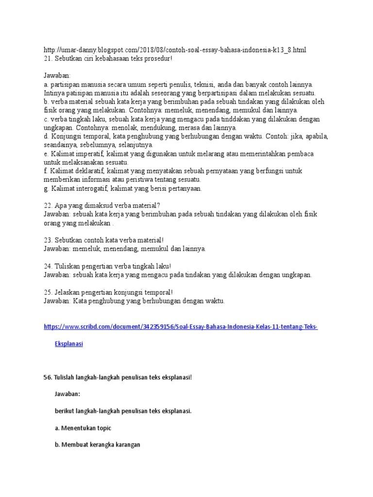 Tuliskan Pengertian Teks Prosedur : tuliskan, pengertian, prosedur