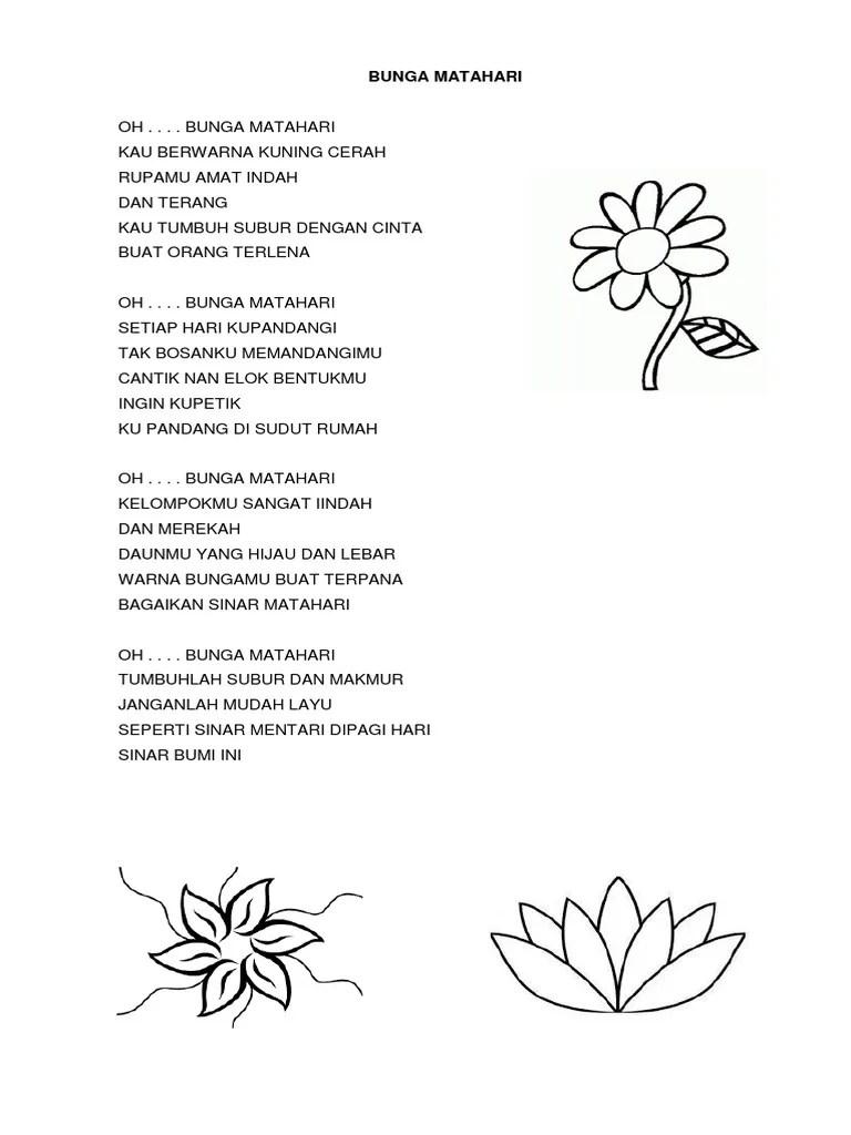 Puisi Berjudul Bunga : puisi, berjudul, bunga, Puisi, Matahari, Singkat, Kumpulan, Terbaik