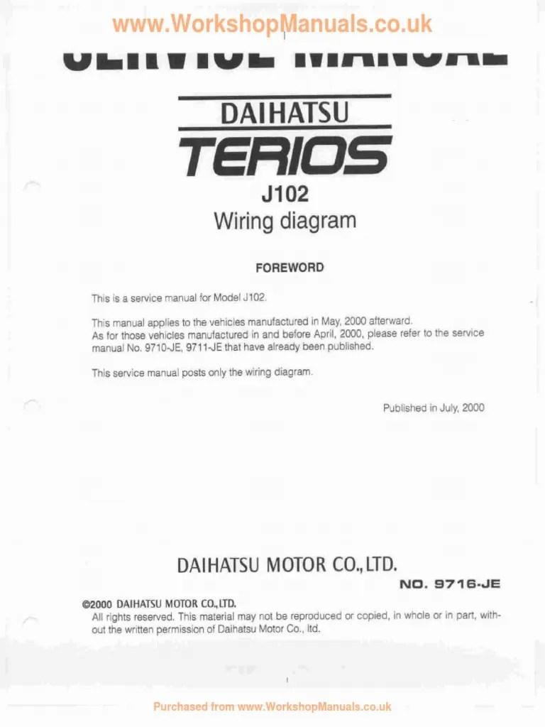 medium resolution of terios wiring diagram foreword pdf daihatsu