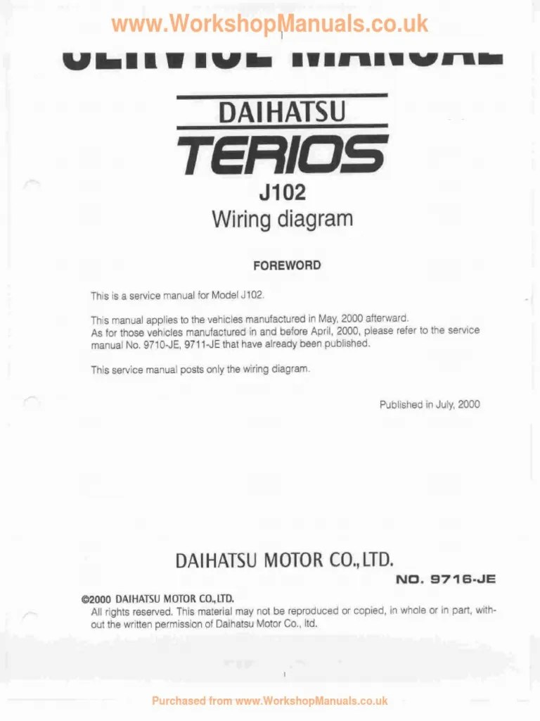 small resolution of terios wiring diagram foreword pdf daihatsu