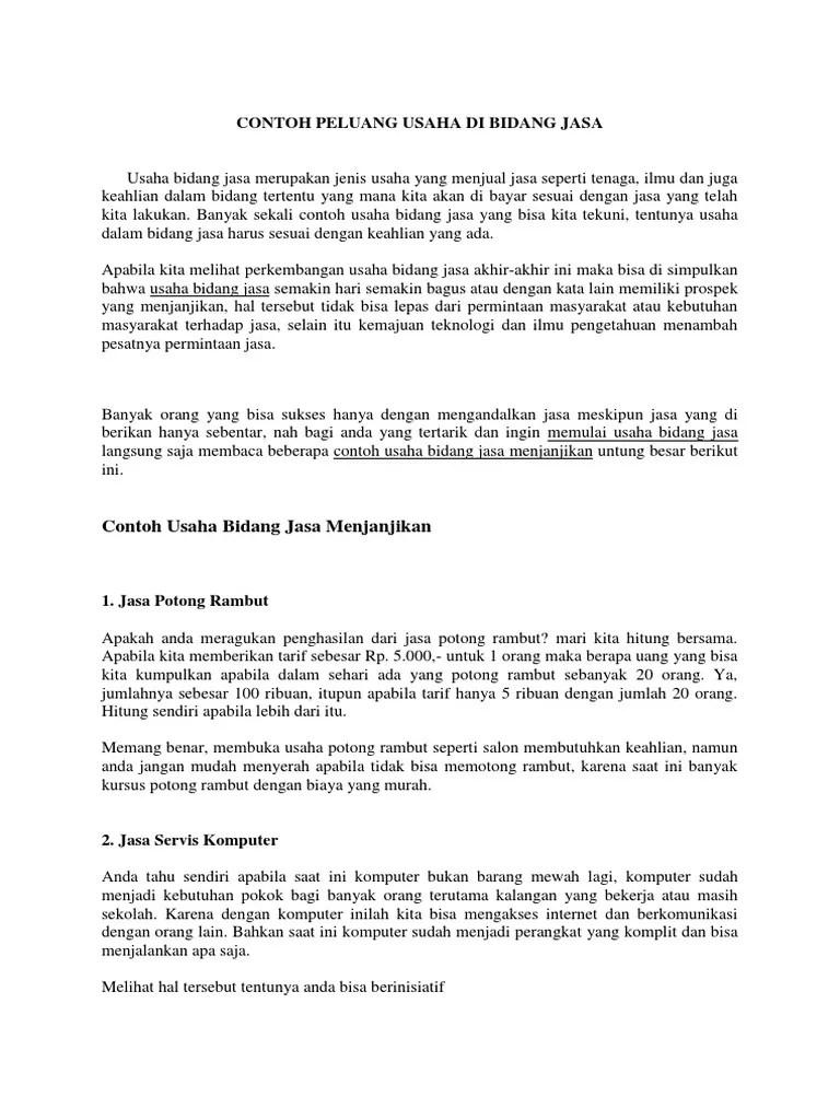 Perusahaan Jasa - Pengertian, Karakteristik, Perbedaan, Contoh