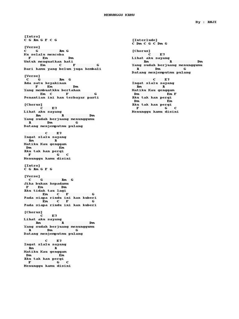 Chord Menunggu Pagi : chord, menunggu, Chord, Menunggu
