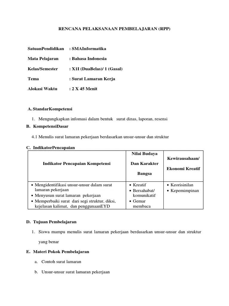 82 Contoh Surat Lamaran Pekerjaan Atas Dasar Inisiatif Sendiri