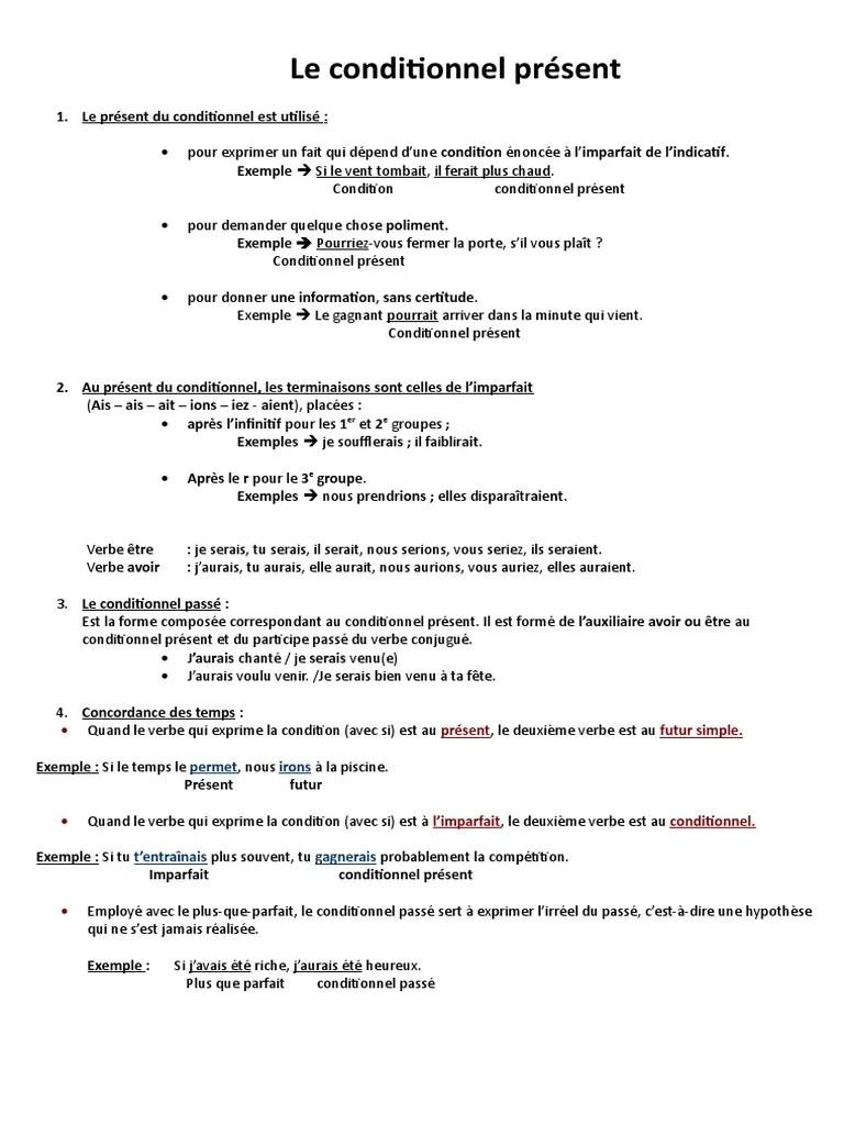 Quand Utilise T On Le Conditionnel : quand, utilise, conditionnel, Conditionnel, Present, Verbe, Typologie, Linguistique
