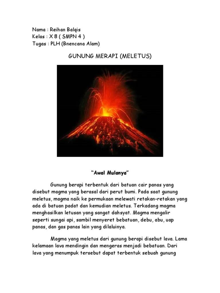 """Awan Panas Yang Keluar Dari Letusan Gunung Berapi Disebut : panas, keluar, letusan, gunung, berapi, disebut, Gunung, Merapi, (Meletus):, """"Awal, Mulanya"""""""