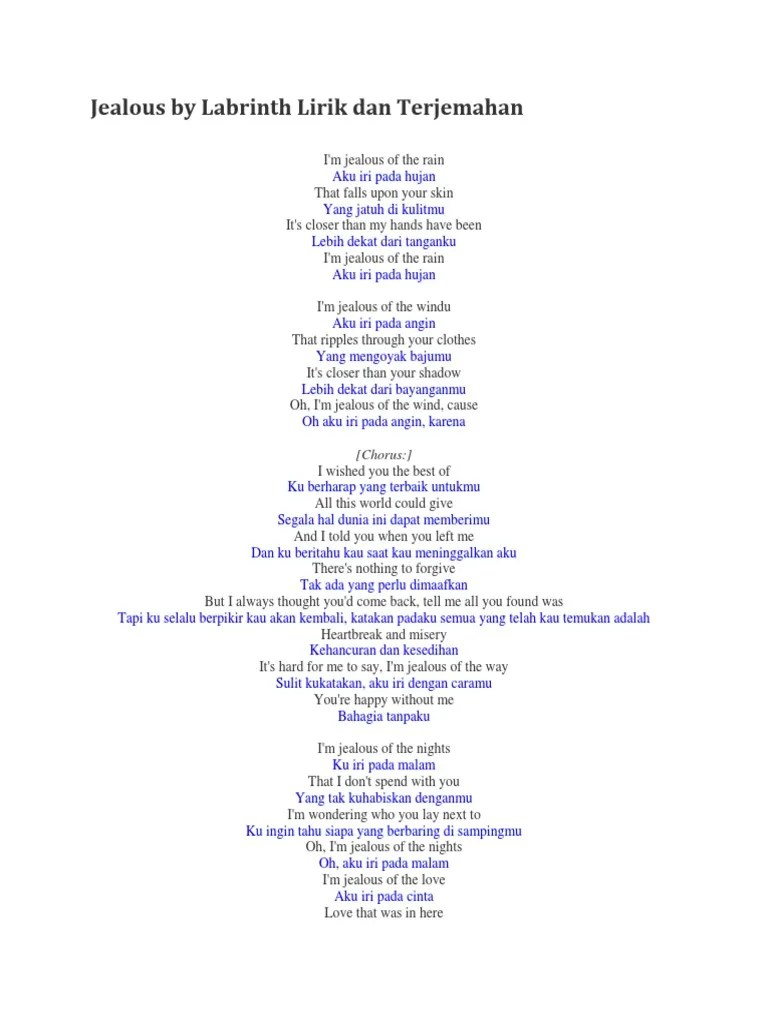 Lirik Dan Terjemahan Jealous Labrinth : lirik, terjemahan, jealous, labrinth, Jealous, Labrinth, Lirik, Terjemahan