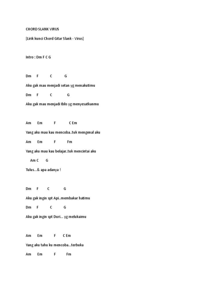 Chord Slank Virus : chord, slank, virus, Chord, Slank, Virus