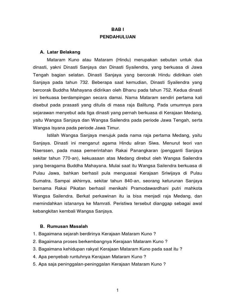 Makalah Kerajaan Mataram Kuno : makalah, kerajaan, mataram, MAKALAH, KERAJAAN, MATARAM