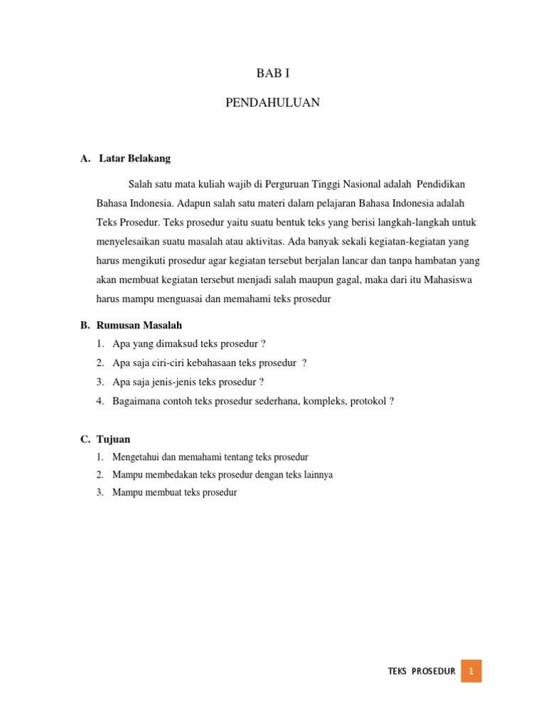 Apakah Yang Dimaksud Teks Prosedur : apakah, dimaksud, prosedur, Indonesia