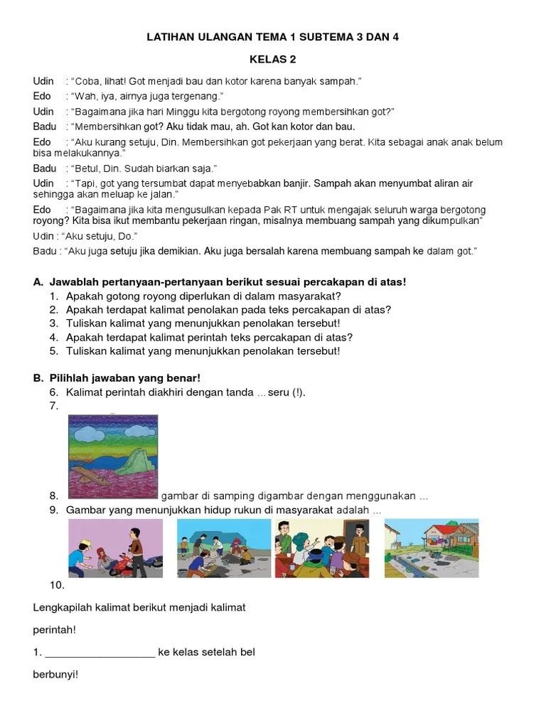 12 Contoh Dialog Interaktif Dan Kesimpulannya Sebagai