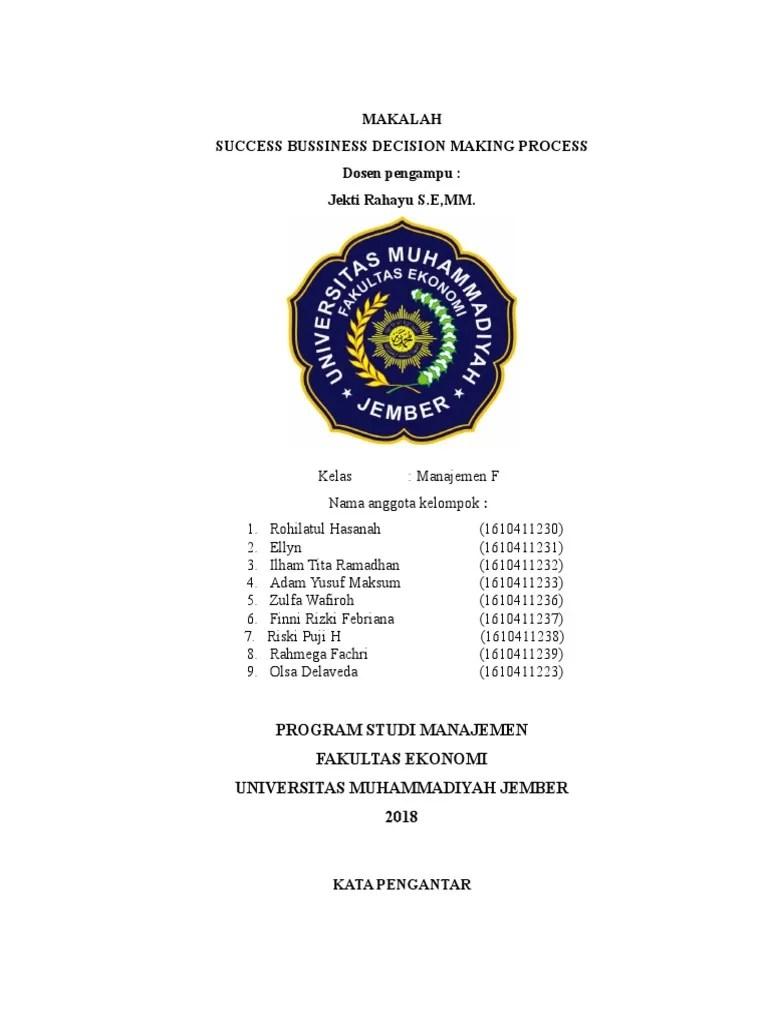 Makalah Manajemen Bisnis POAC.docx - MAKALAH TENTANG