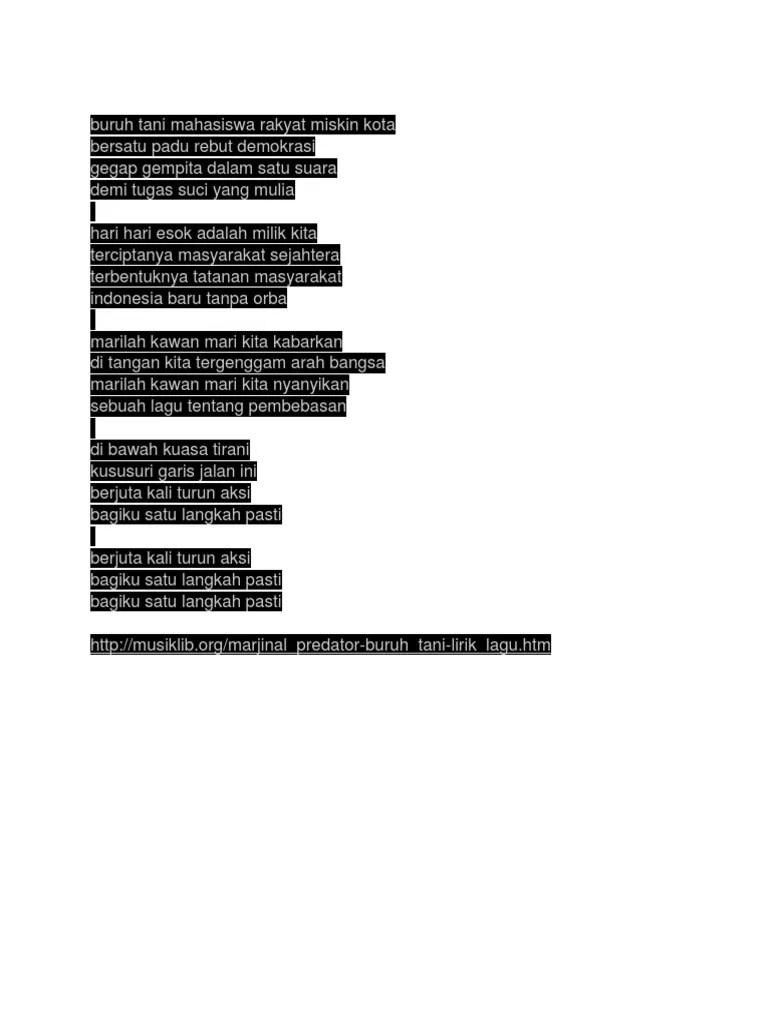 Download Lagu Marjinal Buruh Tani Mahasiswa : download, marjinal, buruh, mahasiswa, Buruh