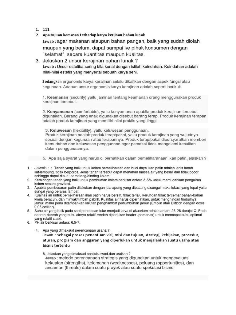 Unsur Ergonomis Karya Kerajinan Adalah : unsur, ergonomis, karya, kerajinan, adalah, Tujuan, Kemasan.terhadap, Karya, Kerjinan, Bahan, Lunak, Jawab
