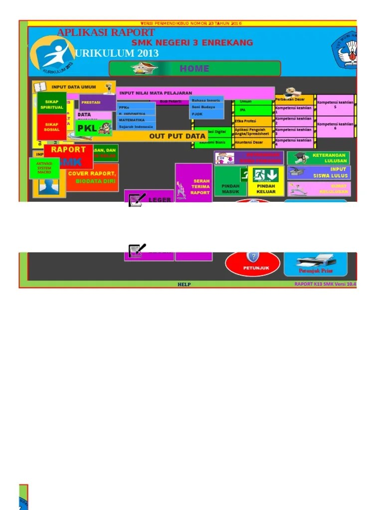 Aplikasi Raport K13 Smk Gratis : aplikasi, raport, gratis, Aplikasi, Raport