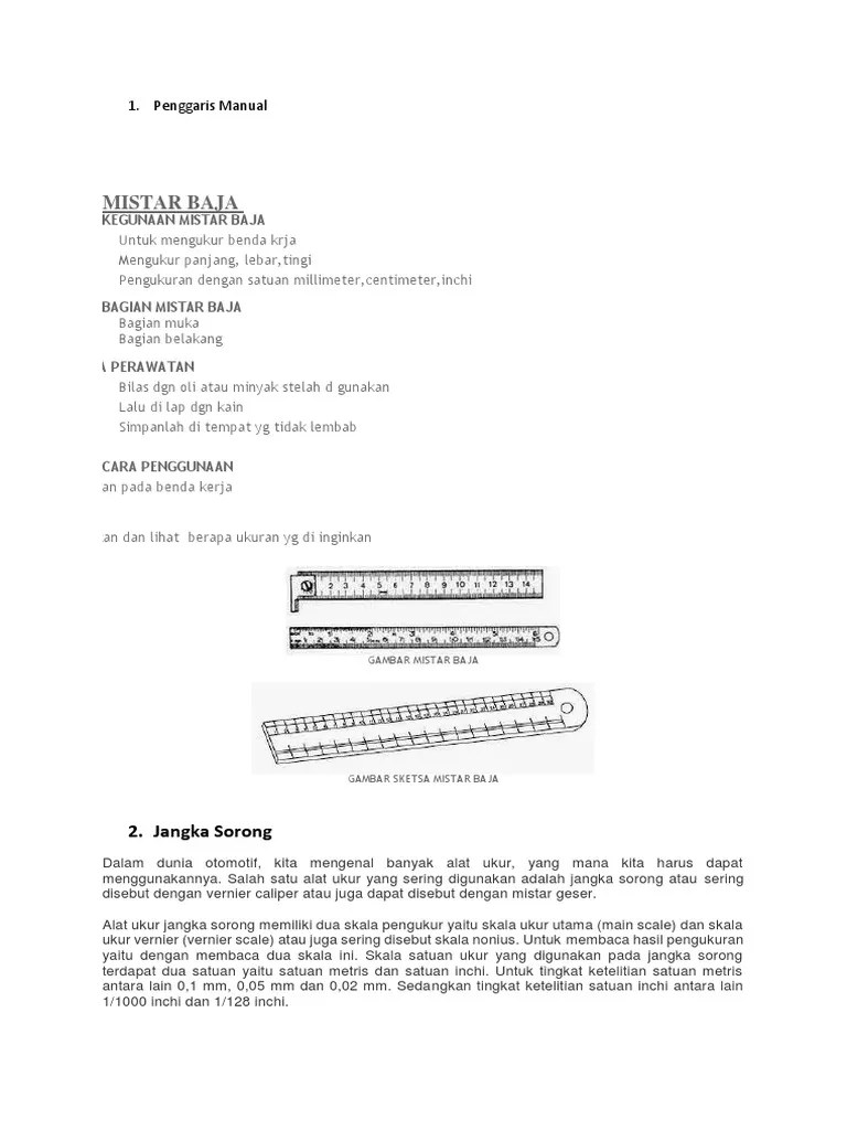 Satu Inchi Berapa Cm : inchi, berapa, Penggaris, Manual