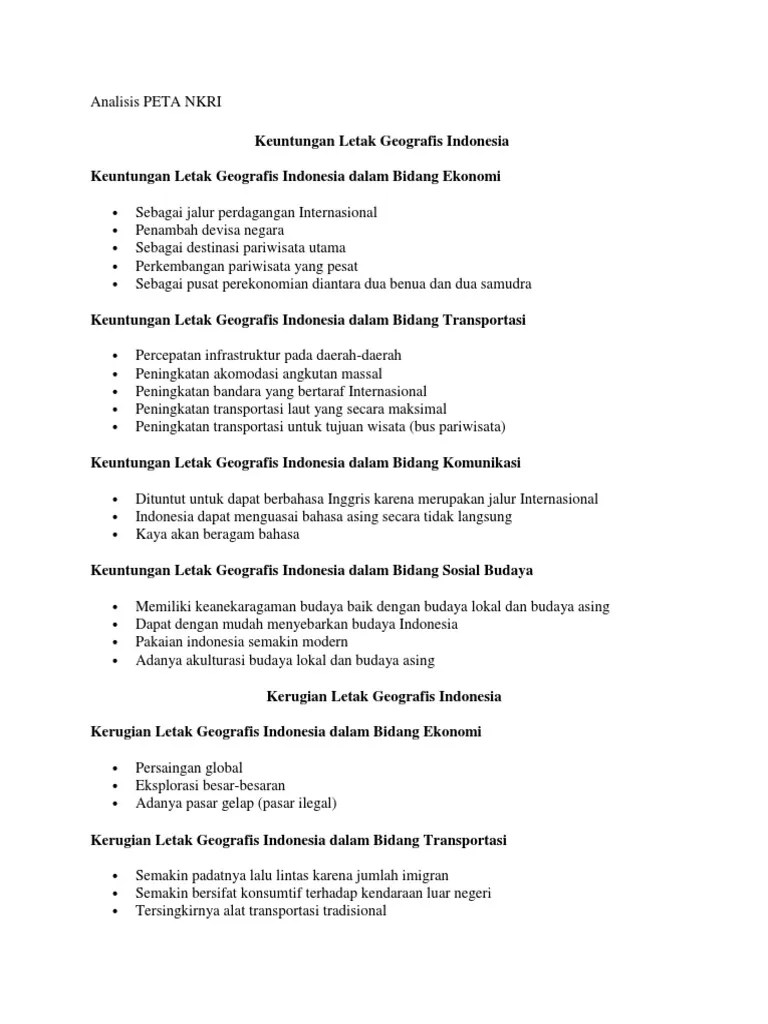 Keuntungan Dan Kerugian Letak Geologis Indonesia : keuntungan, kerugian, letak, geologis, indonesia, Keuntungan, Kerugian, Letak, Geologis, Indonesia, Belajar