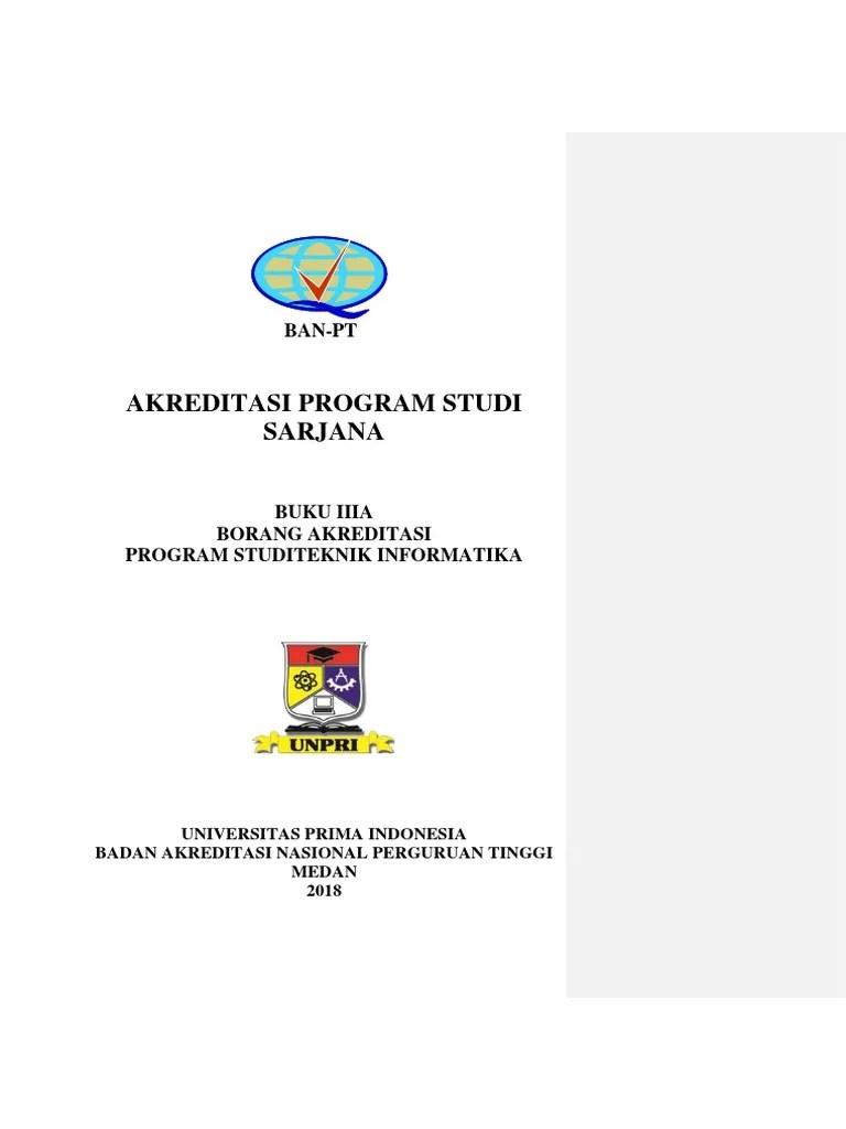 Borang Akreditasi Program Studi 2018 : borang, akreditasi, program, studi, 17-12-2018, Borang, Teknik, Industri