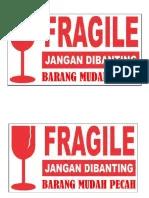 Logo Barang Mudah Pecah : barang, mudah, pecah, Pecah