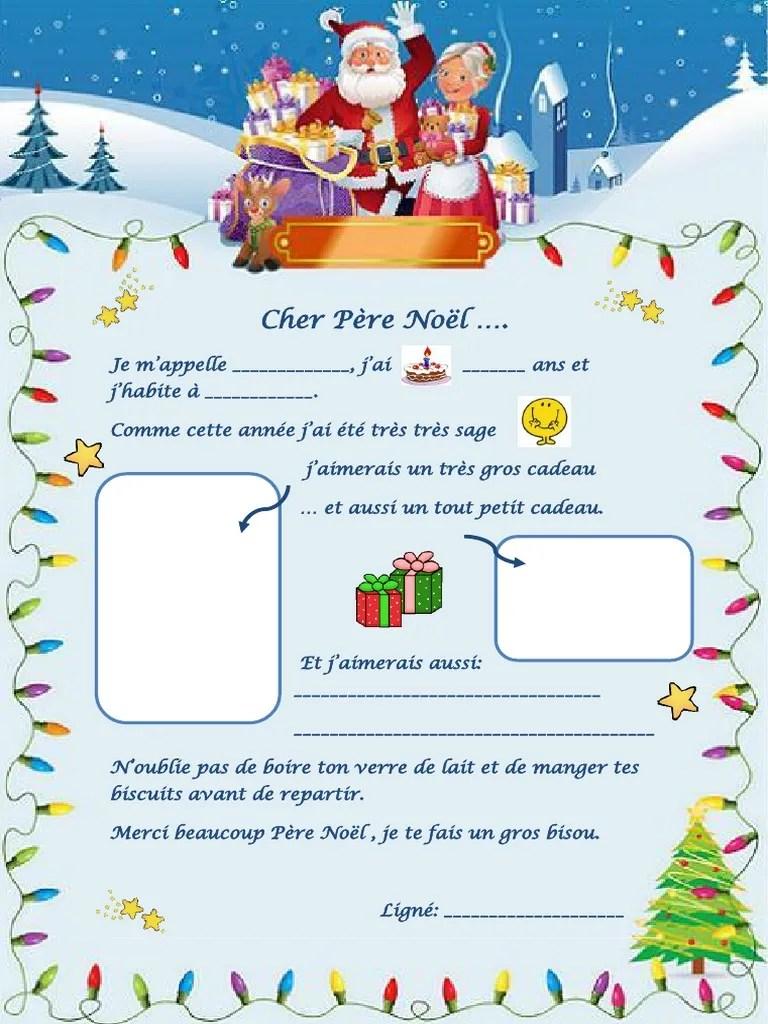 On L Appelle Pere Noel : appelle, Lettre, Feuille, Dexercices, 62126
