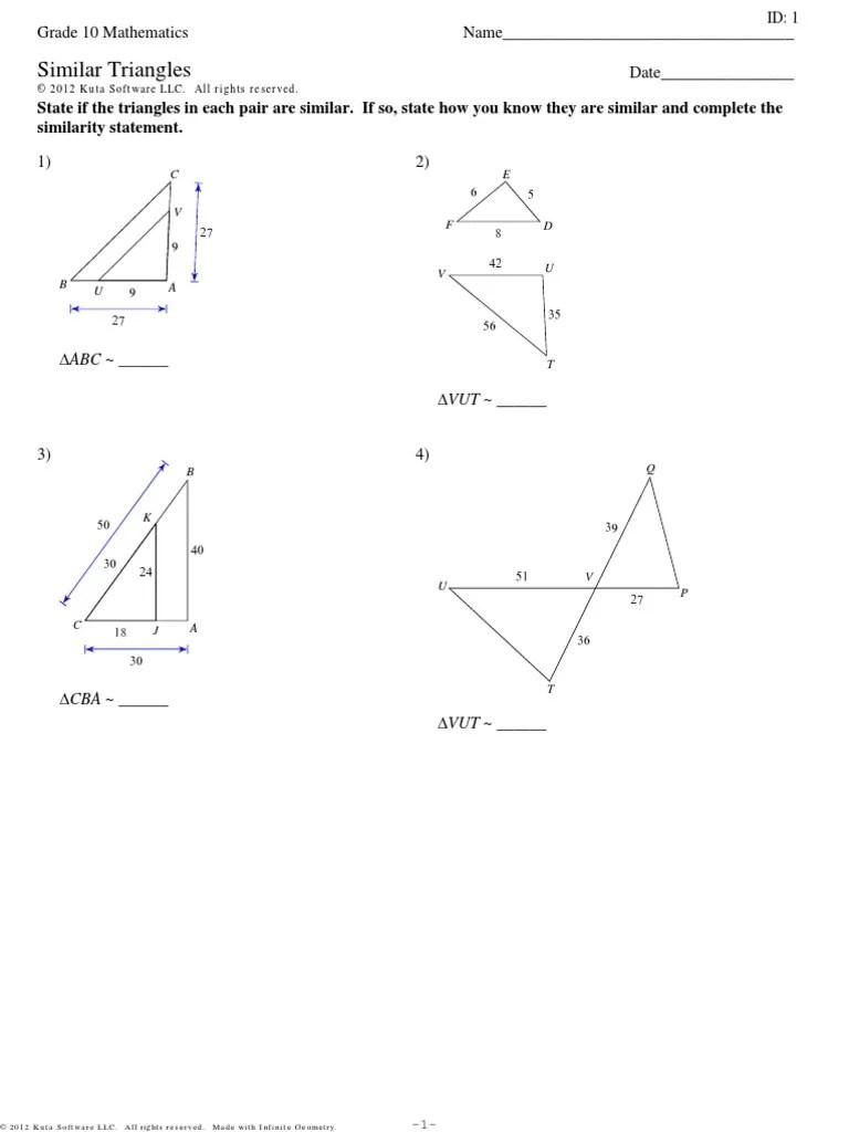 small resolution of Similar Triangles   Euclid   Polytopes
