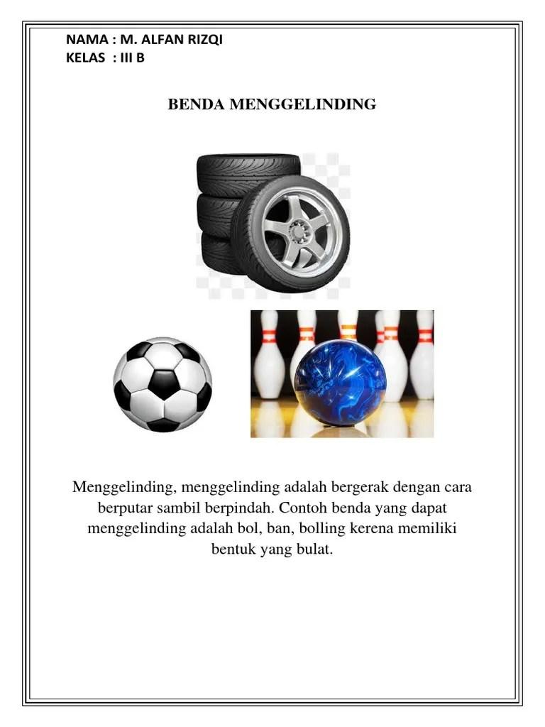 Contoh Benda Yang Berbentuk Bola : contoh, benda, berbentuk, Benda, Menggelinding2