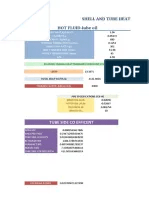 Shell and Tube Heat Exchanger Spreadsheet | Heat Exchanger ...