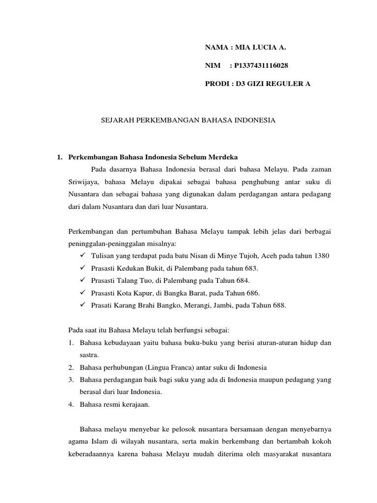 Prasasti Kedukan Bukit Berisi Tentang : prasasti, kedukan, bukit, berisi, tentang, PERKEMBANGAN, INDONESIA.docx