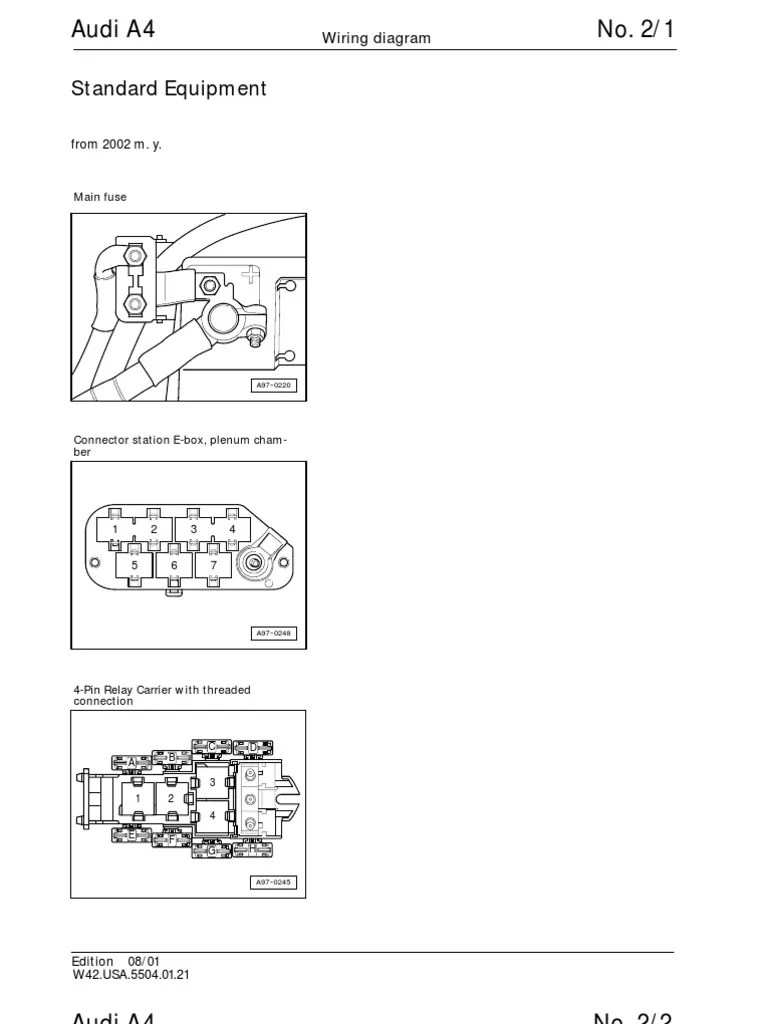 medium resolution of audi a4 b6 wiring diagram