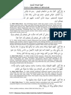 Bacaan Sholat Jenazah Lengkap : bacaan, sholat, jenazah, lengkap, Bacaan, Sholat, Jenazah, Sesuai, Muhammadiyah-1