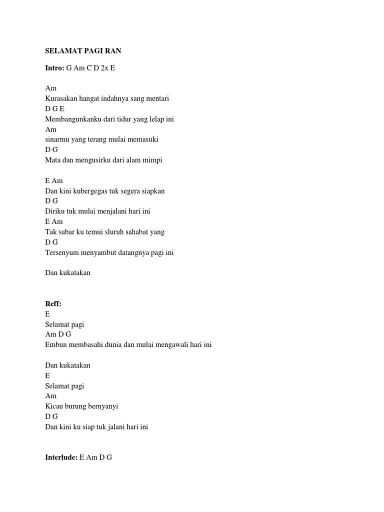 Lagu Indahnya Mentari Pagi : indahnya, mentari, Indah, Mentari, Lirik, CUACA