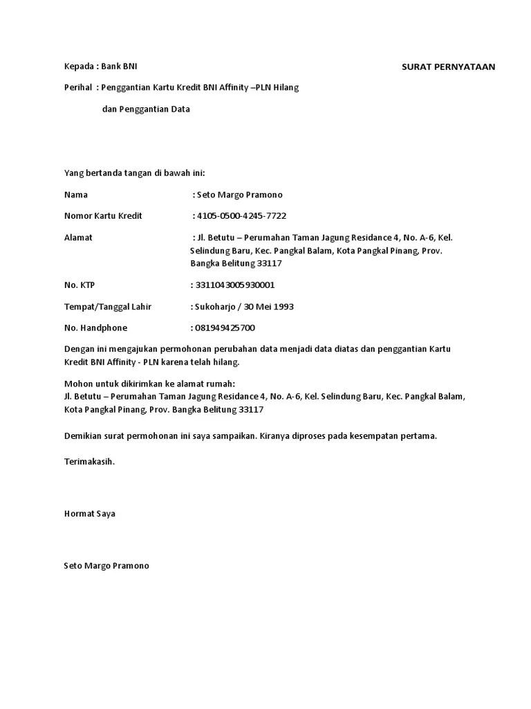 Contoh Surat Permohonan Perubahan Data : contoh, surat, permohonan, perubahan, Surat, Permohonan, Transfer, Kerja, Courses