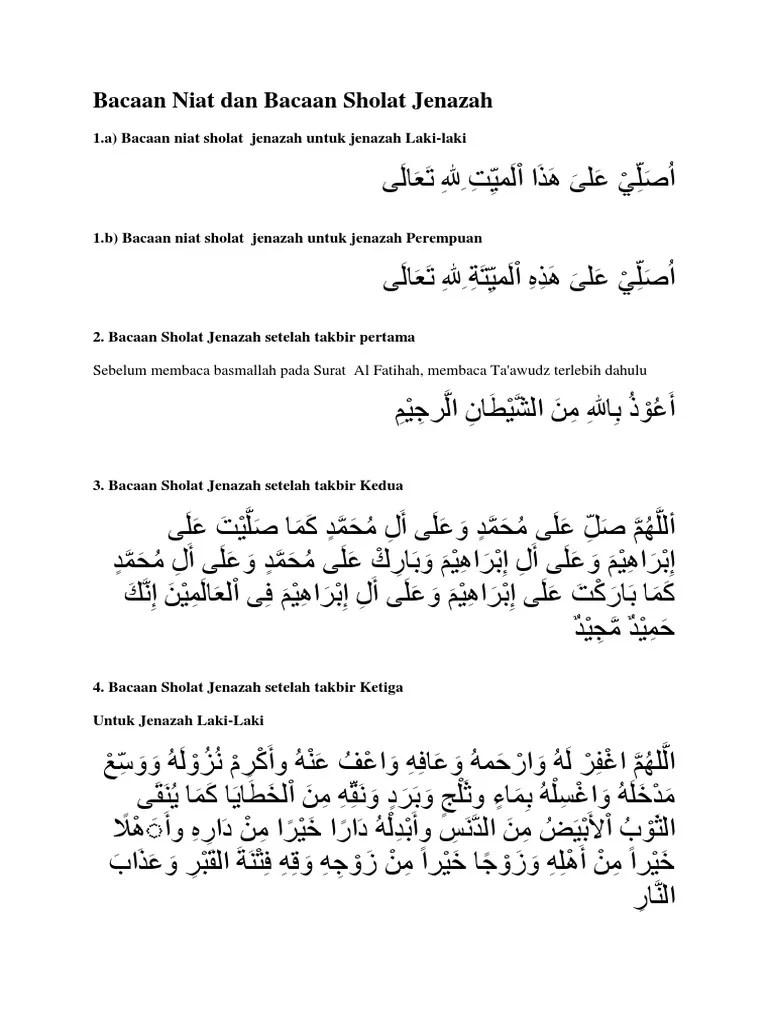 Shalat Jenazah: Rukun, Bacaan Doa, Hingga Syarat Sah
