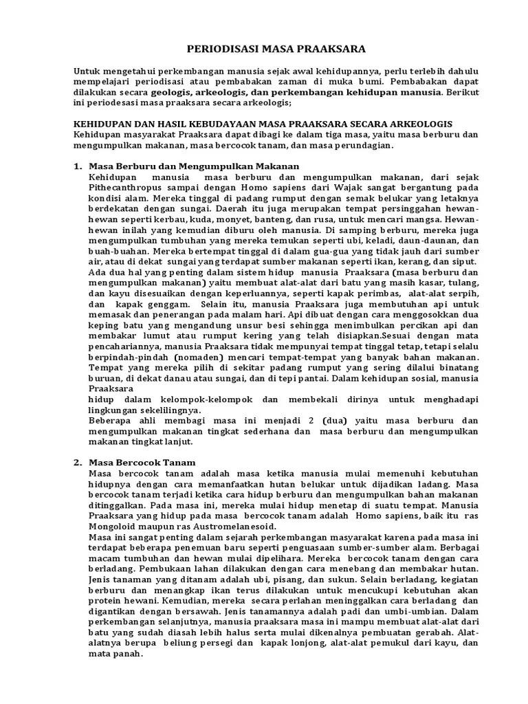 Periodisasi Zaman Praaksara Berdasarkan Geologi : periodisasi, zaman, praaksara, berdasarkan, geologi, PERIODISASI, PRAAKSARA.docx