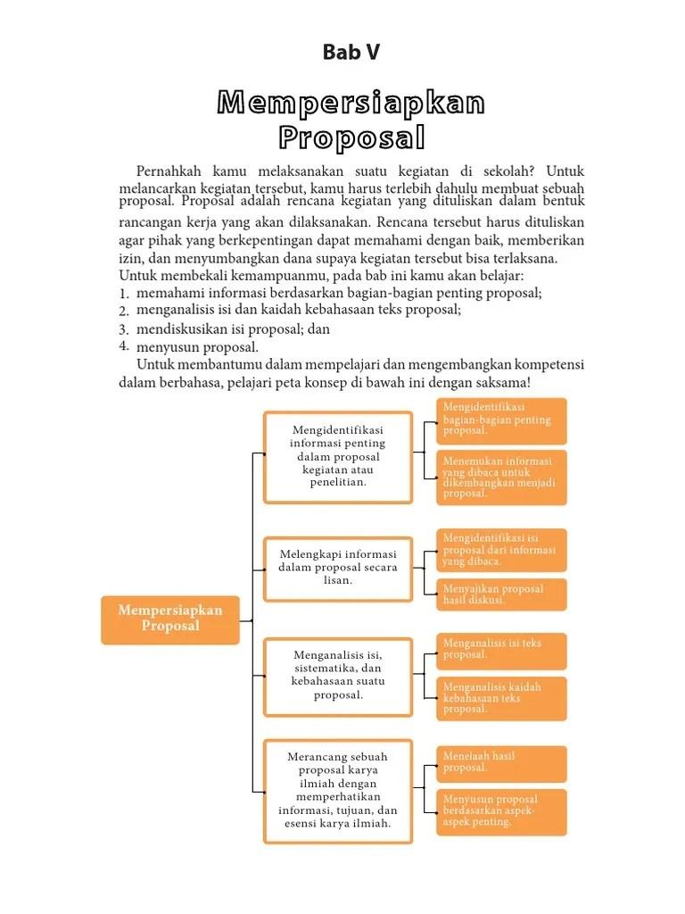 Fitur Kebahasaan Proposal : fitur, kebahasaan, proposal, Mempersiapkan, Proporsal