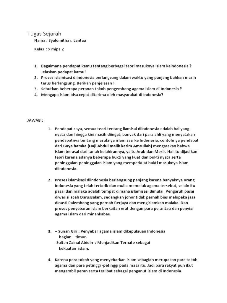 Beberapa Peran Tokoh Pengembang Agama Islam Di Indonesia : beberapa, peran, tokoh, pengembang, agama, islam, indonesia, Indah, Sejarah.docx