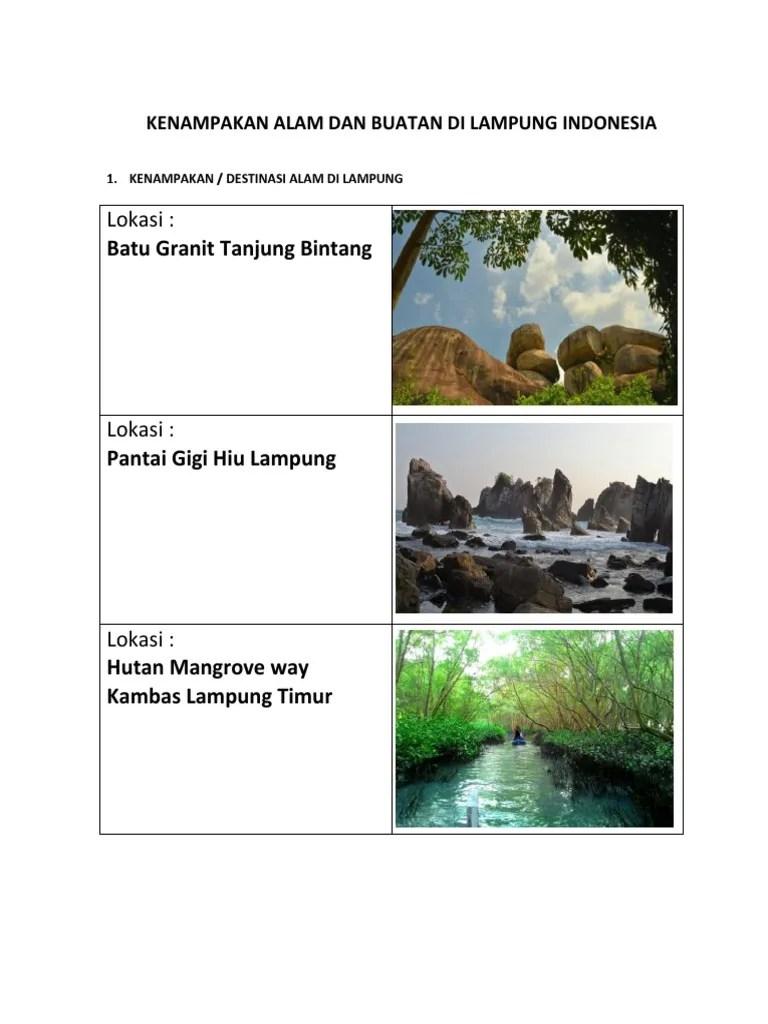 Kenampakan Alam Dan Buatan Di Benua Asia : kenampakan, buatan, benua, Gambar, Kenampakan, Buatan, Indonesia
