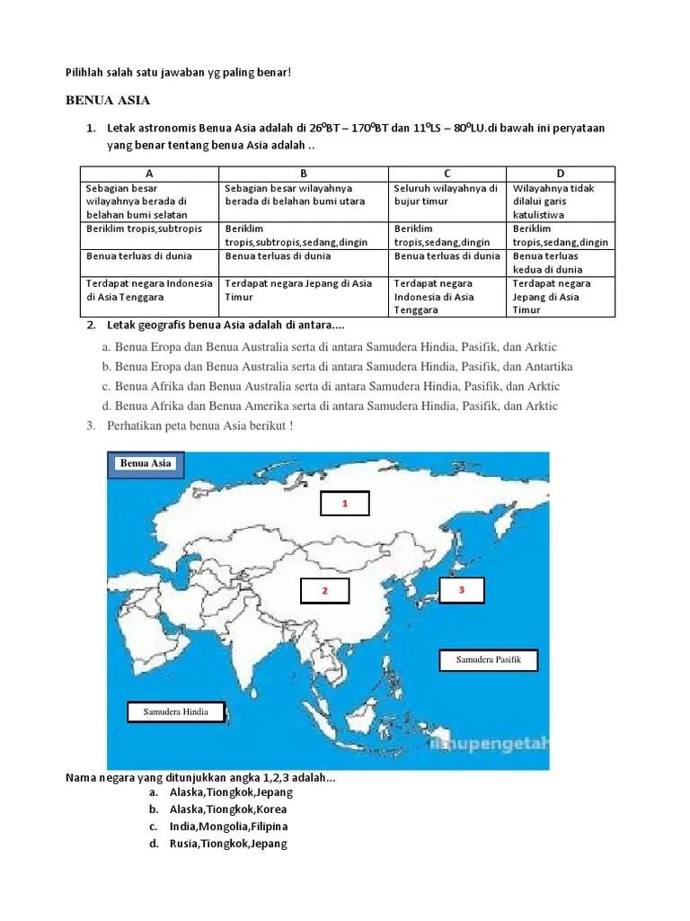 Letak Astronomis Benua Asia Adalah : letak, astronomis, benua, adalah, Benua, Pengetahuan.docx